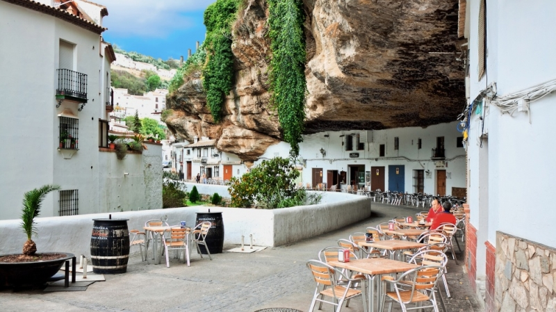 Thị trấn Setenil de las Bodegas