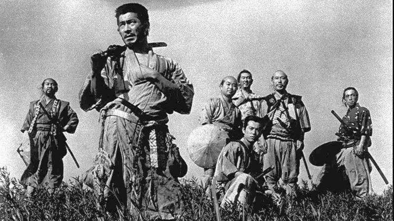 Phim Seven Samurai.