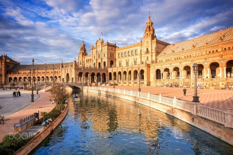 Một góc của Seville, Tây Ban Nha