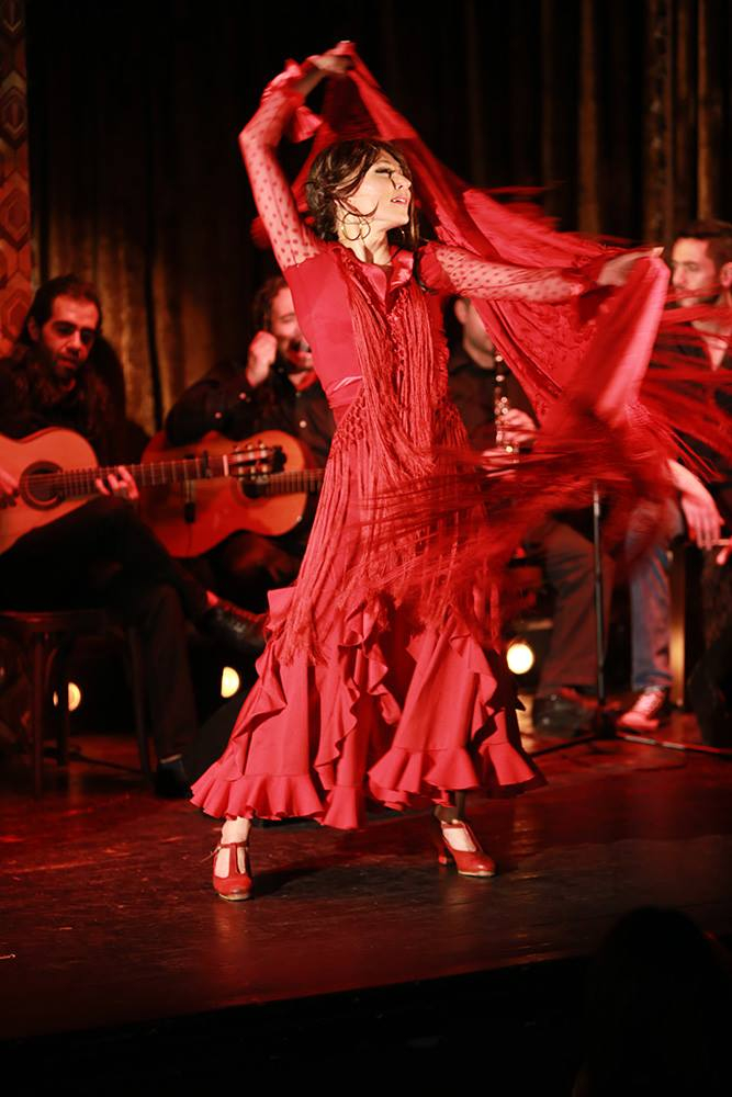 Những vũ điệu Flameco nổi tiếng ở Seville,Tây Ban Nha
