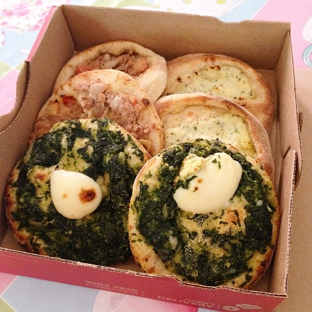 Đây được coi là món Pizza kiểu Trung Đông, với công thức đặc trưng của người dân nơi đây.