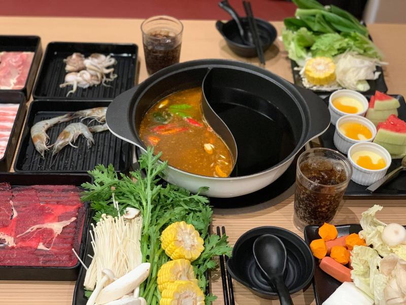 Buffet phong cách Nhật tạo nên biết bao tính túy làm say đắm lòng người