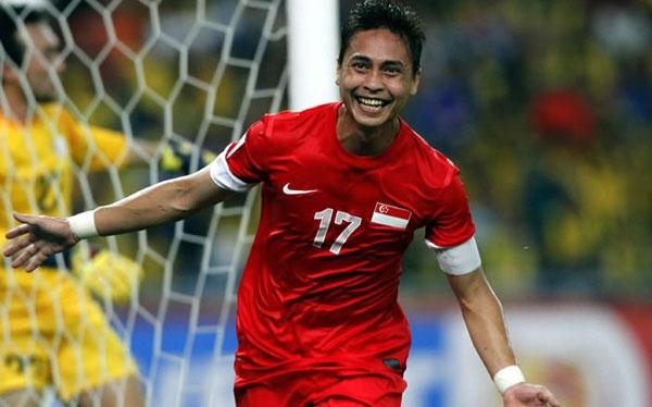 Shahril Ishak đóng góp rất nhiều cho chức vô địch của Singapore năm 2012