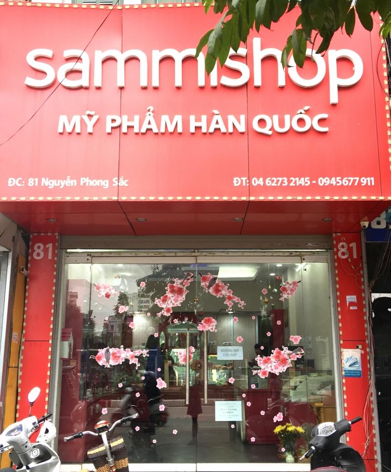 Một trong nhiều chi nhánh của Sammi shop tại Hà Nội