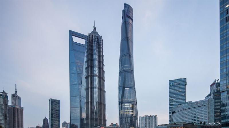 Shanghai Tower cao nhất ở Phố Đông, Thượng Hải
