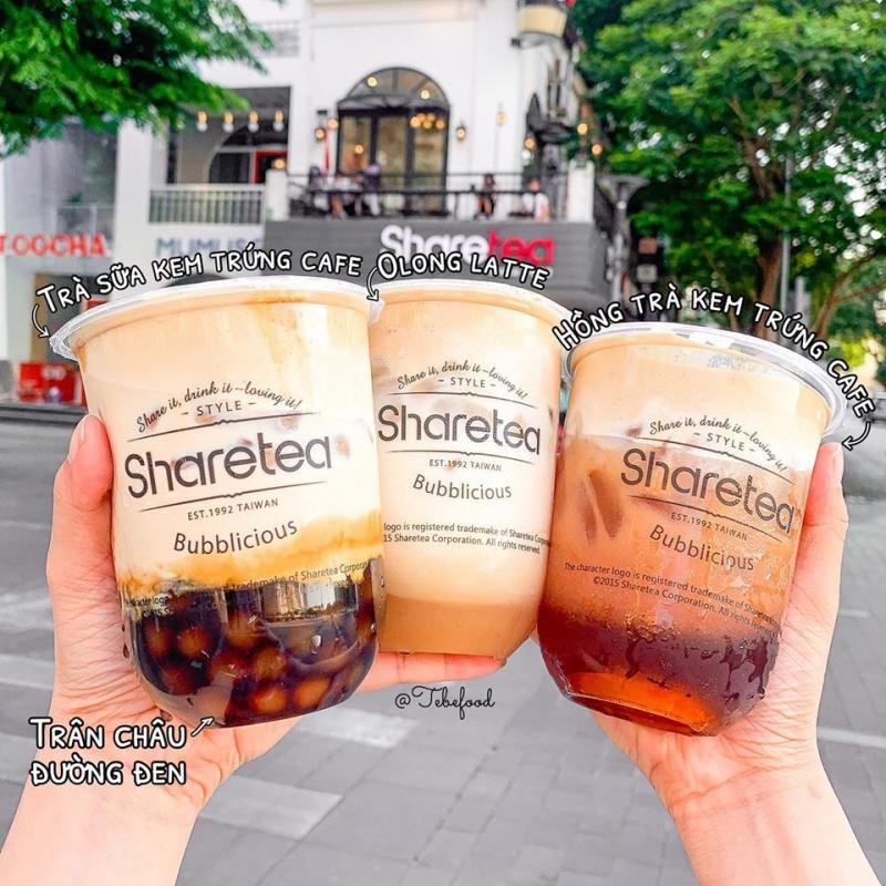 Trà sữa Share Tea luôn mang đến cho khách hàng những ly trà sữa vô cùng chất lượng