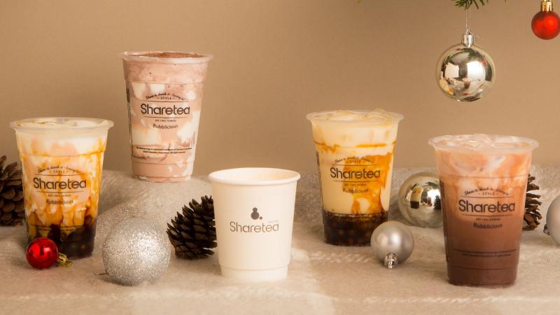 Sản phẩm của Share tea được làm từ lá trà chất lượng cao