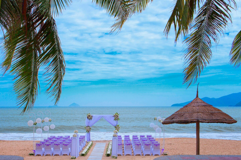 Đám cưới trên biển tại Sheraton Nha Trang Hotel & Spa