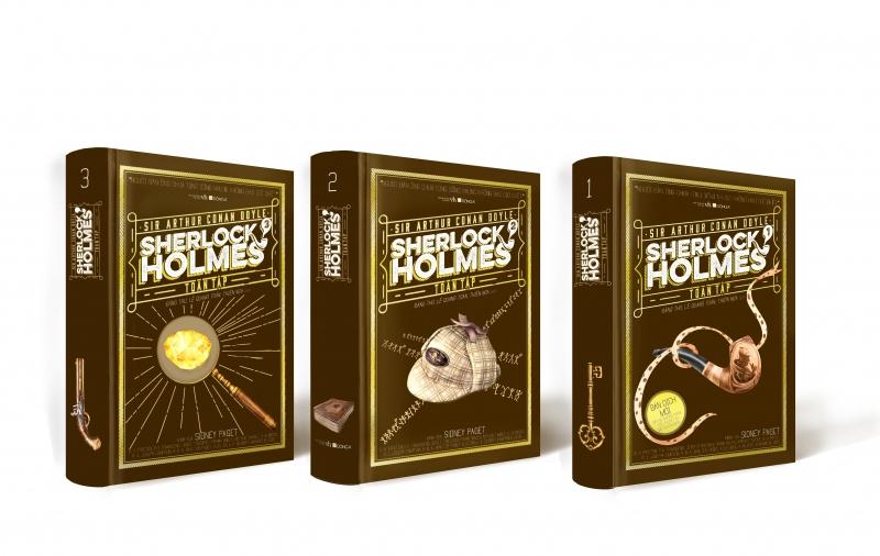 Một số hình ảnh về bộ sách Sherlock Holmes toàn tập