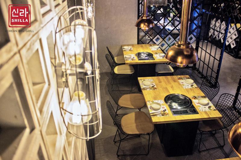Shilla Korea BBQ Restaurant là nhà hàng Hàn Quốc sang trọng