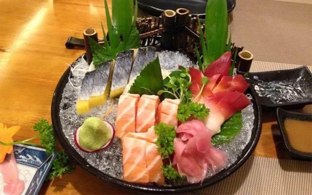 Những miếng sushi tươi ngon ở Shin Sushi