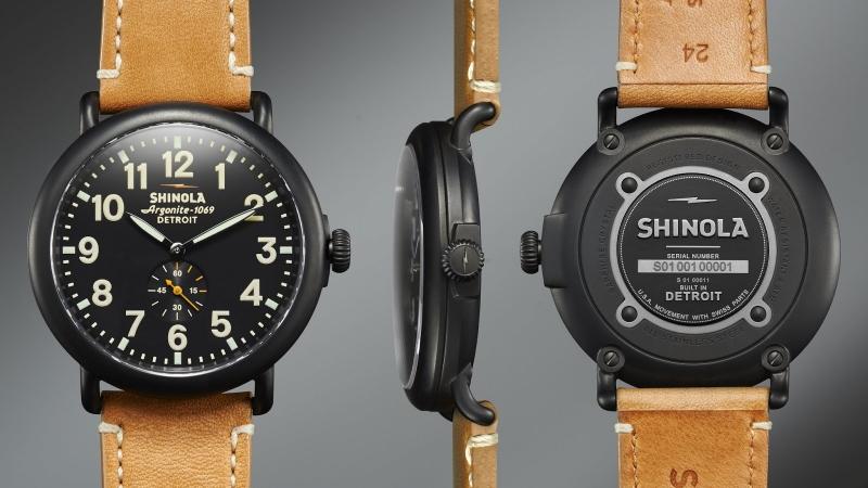 Đồng hồ thương hiệu Shinola
