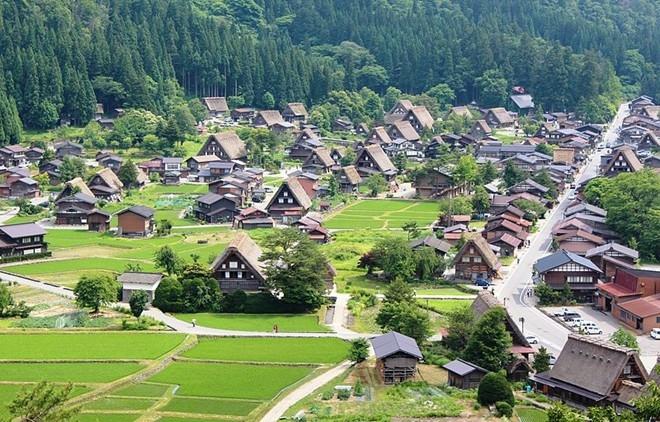 Thị trấn  Shirakawa - go