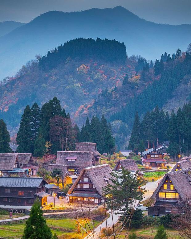 Shirakawa - go, Nhật Bản