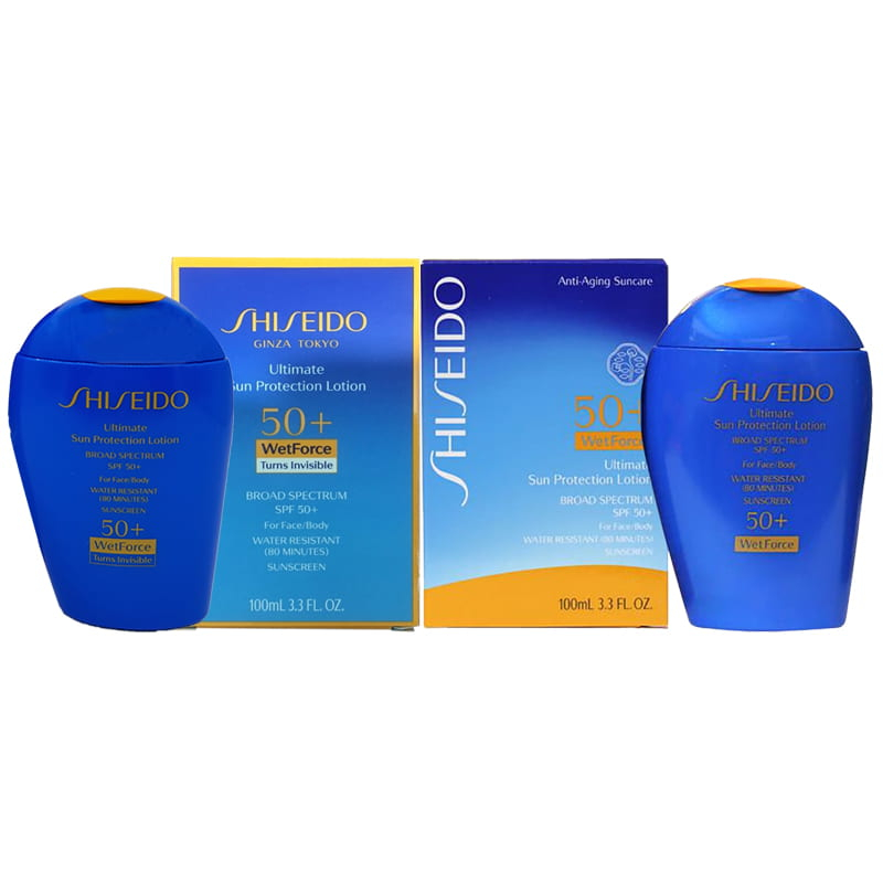 Shiseido Ultimate Sun Protection giúp các hoạt chất chống nắng được giữ nguyên khi tiếp xúc với nước.