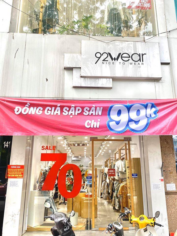 92 Wear cơ sở tại Hà Đông