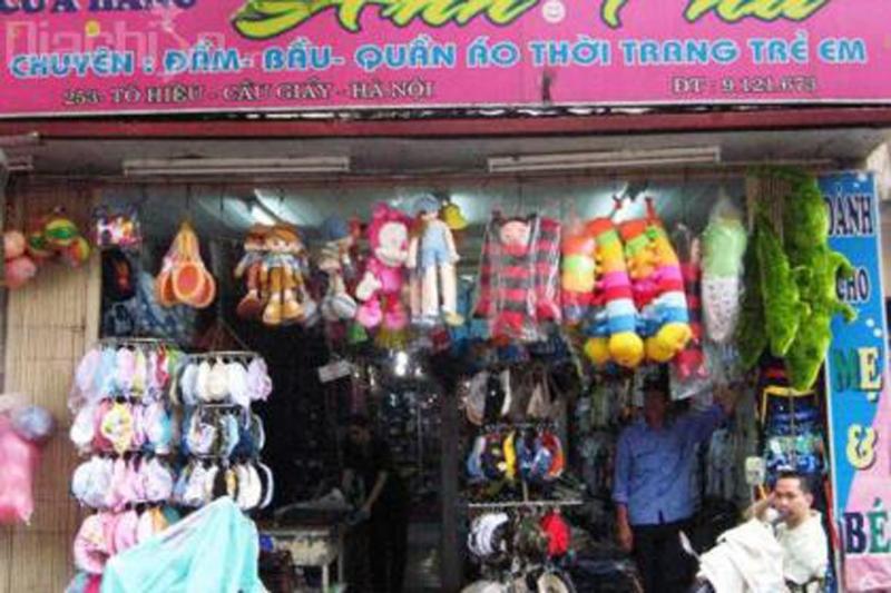 Shop Anh Thu tại 253, Tô Hiệu, Quận Cầu Giấy, Hà Nội