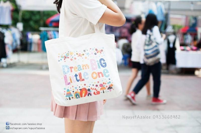 Top 5 shop bán túi vải tote đẹp nhất ở Hà Nội