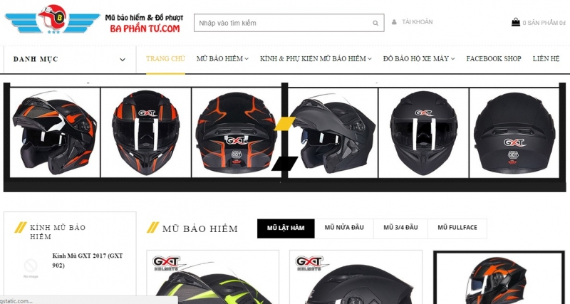 Website của Shop baphantu.com