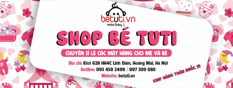 Shop Bé Tuti - Đồ sơ sinh giá gốc