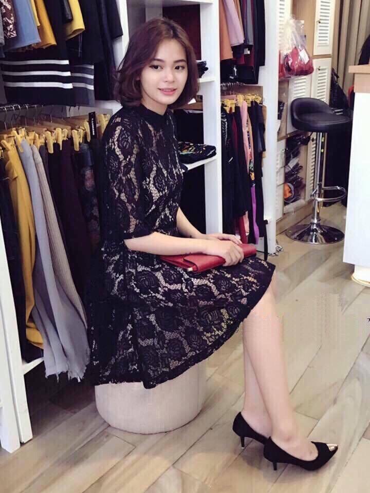 Đầm ren Zara basic 2 lớp (hình ảnh lấy từ fanpage của shop)