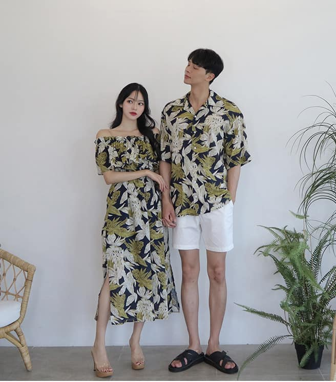 Mẫu áo đôi vô cùng đáng yêu