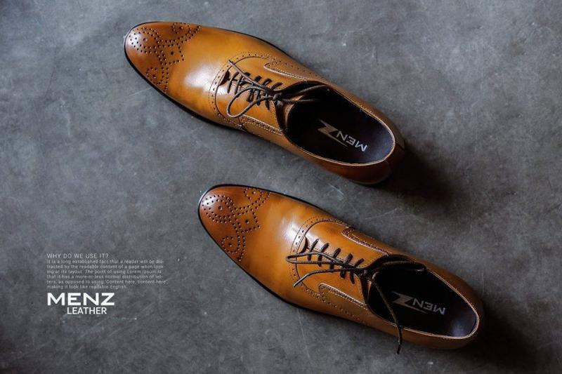 Những mẫu giày nam công sở cao cấp làm từ da bò thật 100%, da mềm mại và dẻo dai