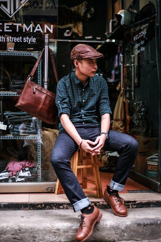 Shop giày da Street Man