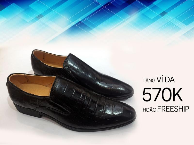 Các mẫu giày nam đẹp tại Kingdom Shoes có thể giúp quý ông ăn gian chiều cao từ 3 đến 5cm