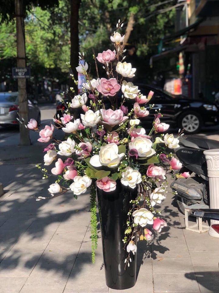 Shop hoa lụa nhập khẩu Flower House