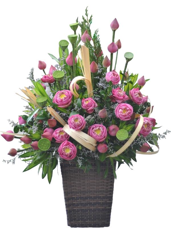 Hoa tại shop luôn tươi mới