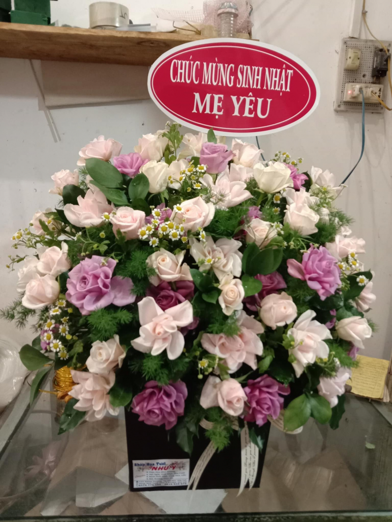 Shop hoa tươi Như Ý Pleiku,Gia Lai