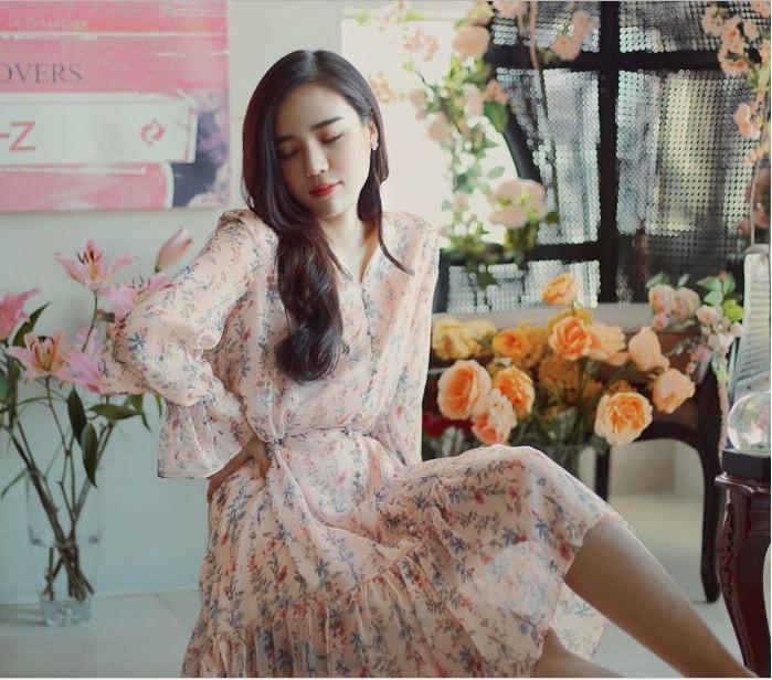 Váy liền hàn quốc VL1615 (hình ảnh lấy từ website của shop)
