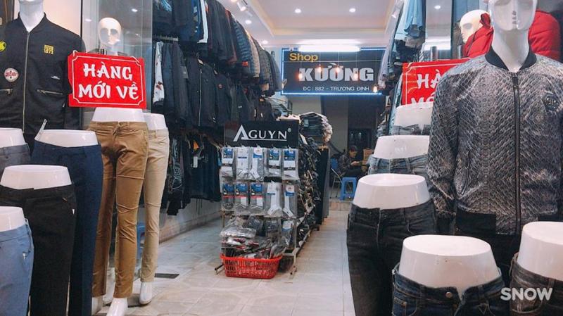 Shop Kường chuyên Nam
