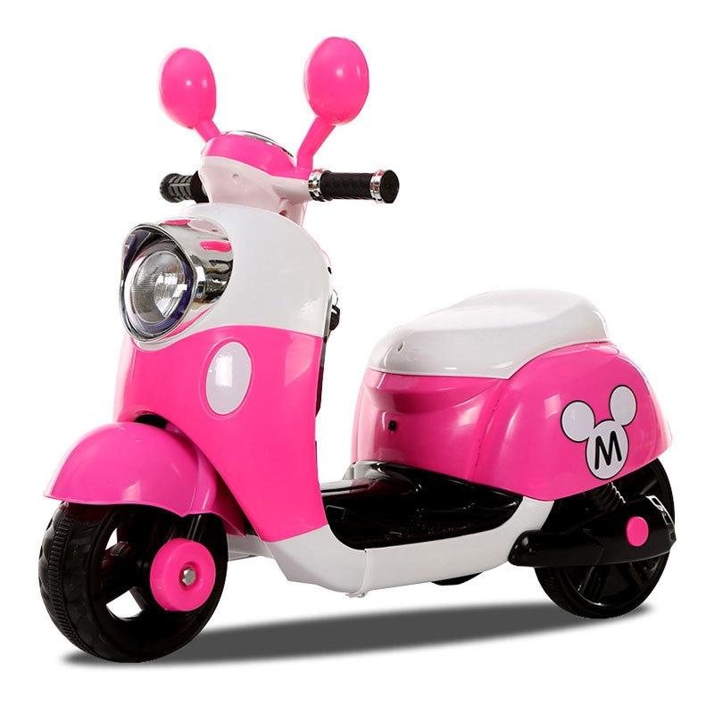 Xe máy điện trẻ em trẻ trung, sang trọng.