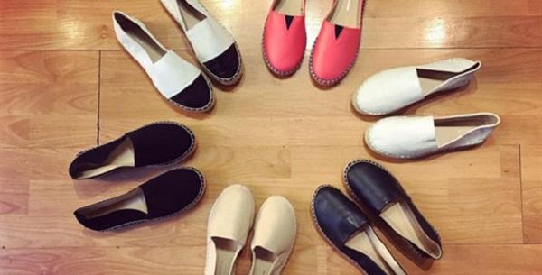 Giày lười nữ đa dạng mẫu mã tại Hà Nội