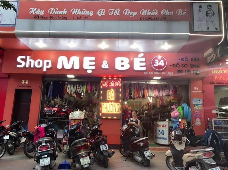 Shop Mẹ và Bé - Bà Thương