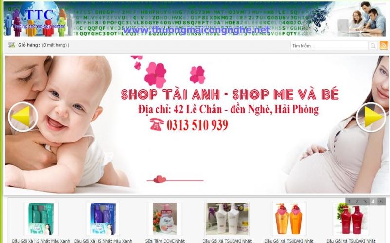 Shop mẹ và bé Tài Anh