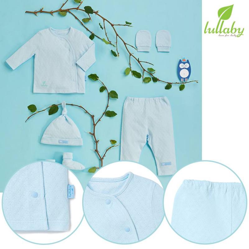 Quần áo sơ sinh Lullaby 100% cotton