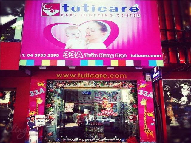 Một chi nhánh của shop mẹ và bé Tuticare