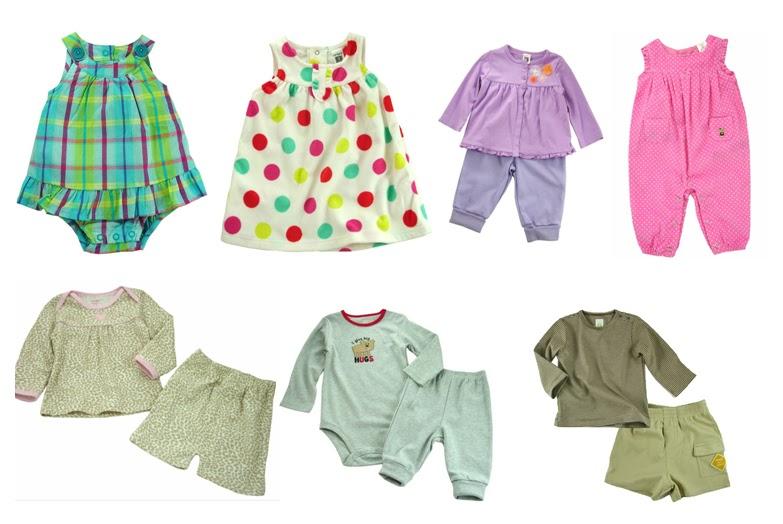 Mẫu quần áo dành cho bé