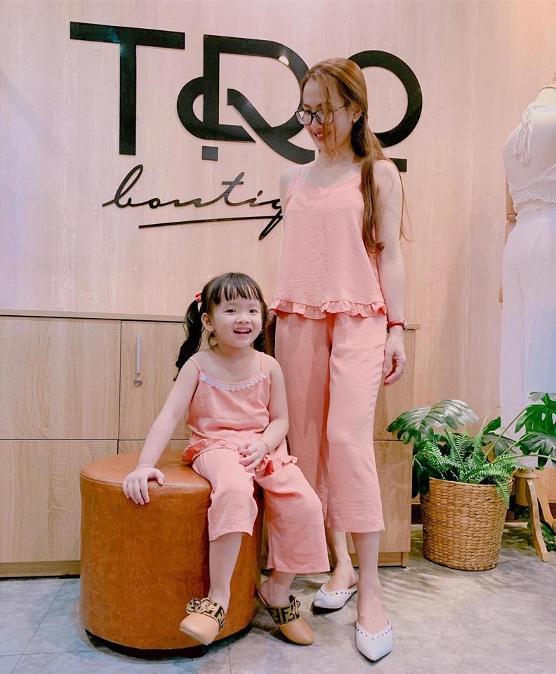 Đồ đôi dành cho Mẹ và Bé tại shop Nắng