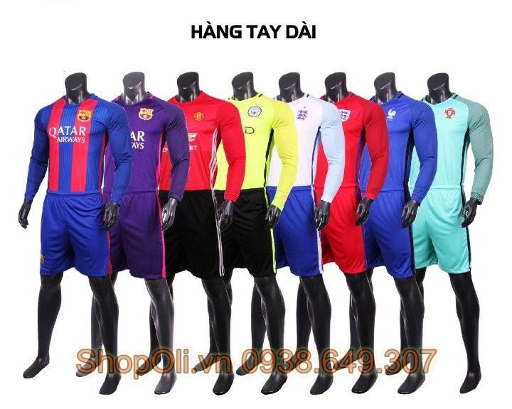 Quần áo bóng đá tay dài