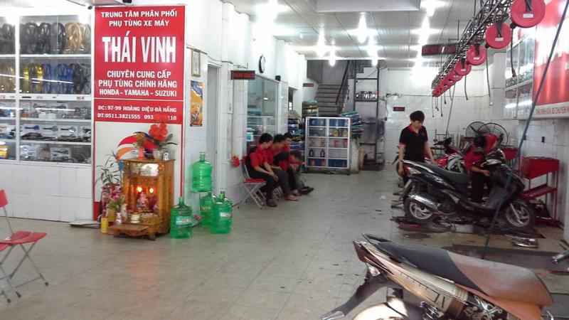 Trung tâm phân phối phụ tùng xe máy chính hãng Thái Vinh