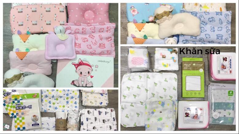 Các mặt hàng sản phẩm cho trẻ sơ sinh tại Shop Răng Sún