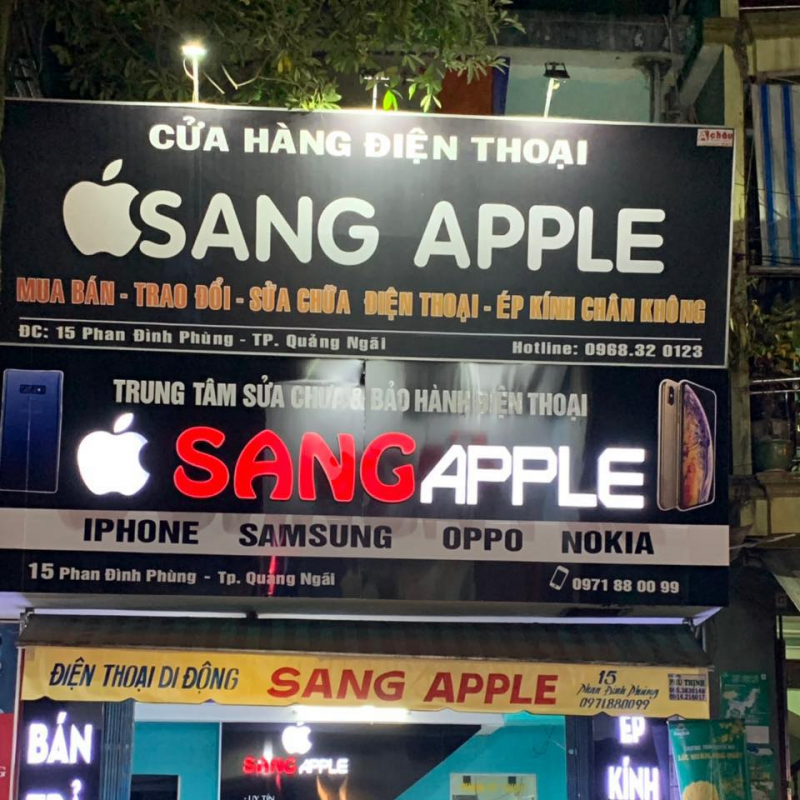 Shop SANG Smartphone Quảng Ngãi