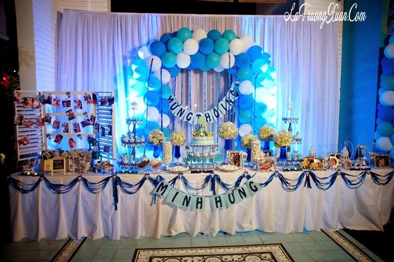 Hình ảnh shop Con Cưng trang trí sinh nhật khách hàng