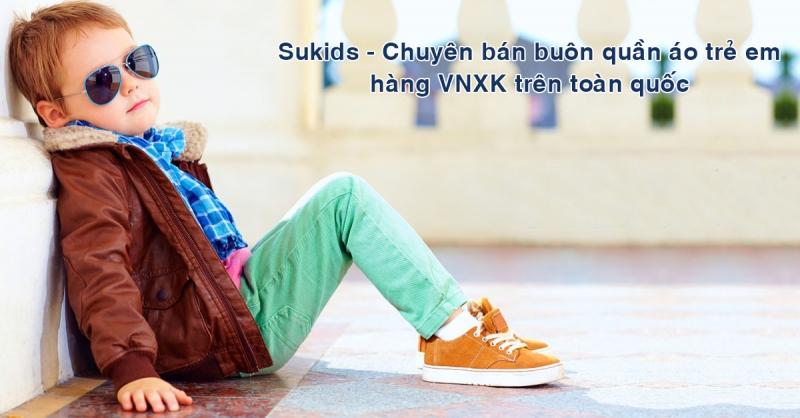 Sukids thời trang trẻ em uy tín tại Hà Nội