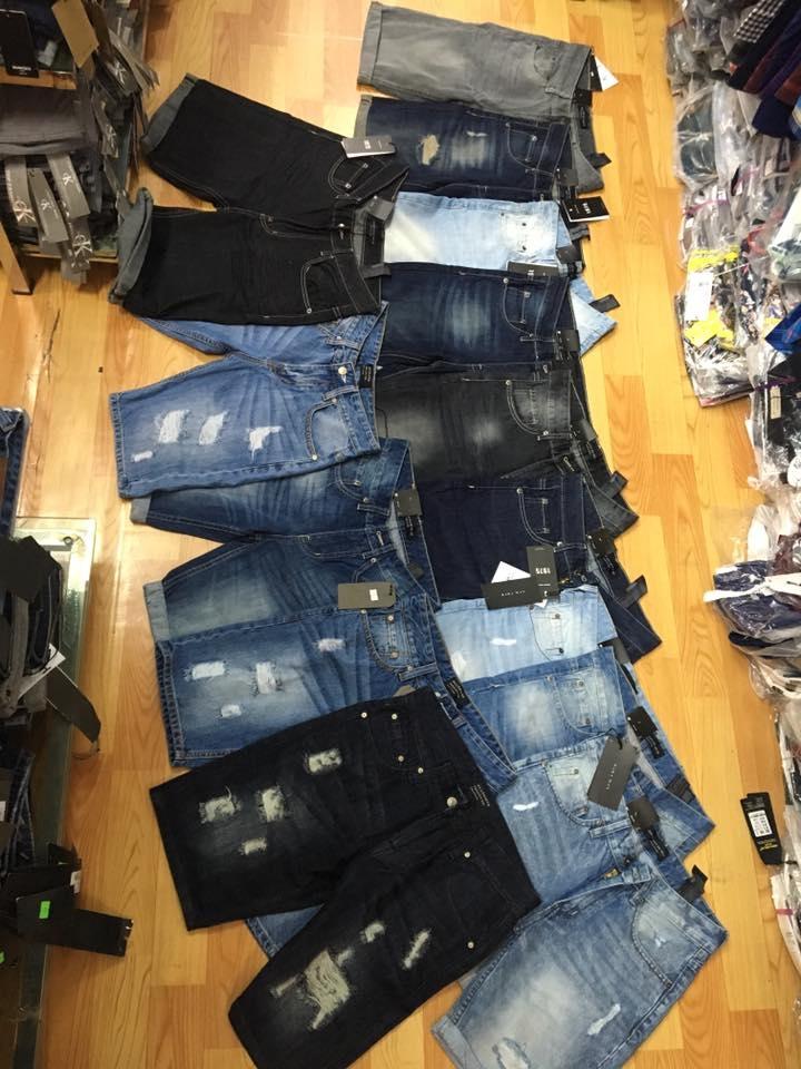 mẫu quần jean sooc