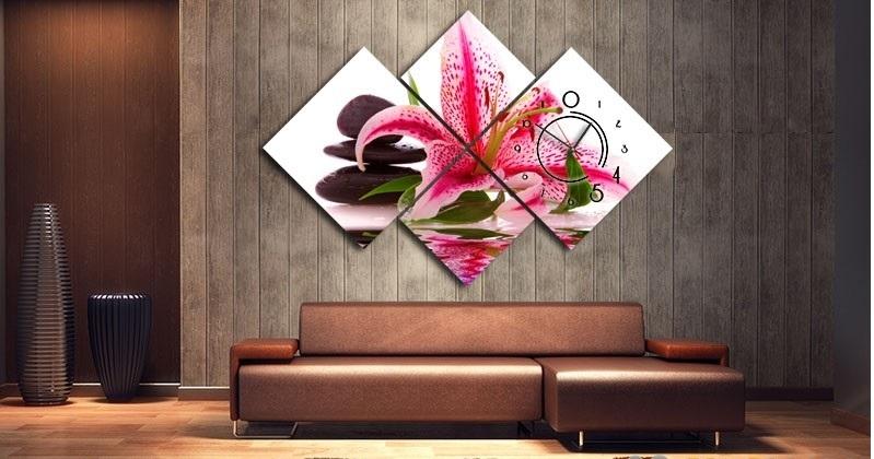 Tranh in canvas phòng khách